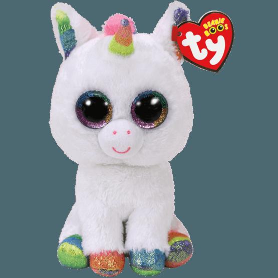 TY, Beanie Boos - Pixy white unicorn 40 cm