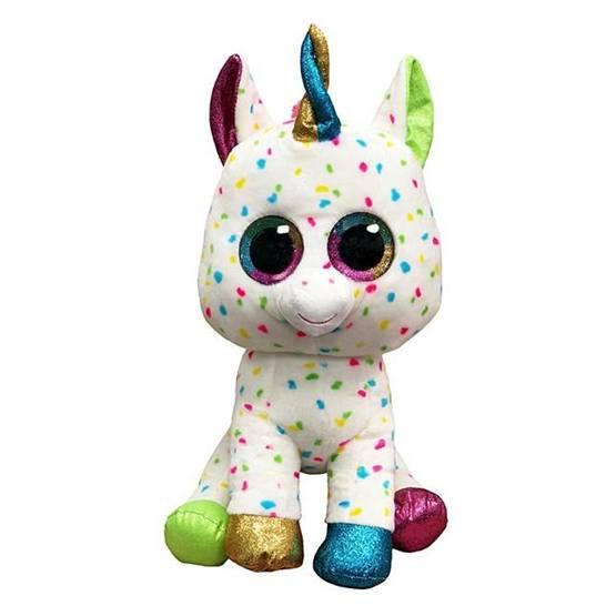 TY, Beanie Boos - Harmonie speckled unicorn 40 cm