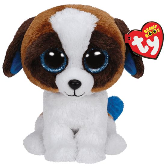TY, Beanie Boos - Duke Hund 23 cm