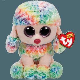 TY Rainbow Pudel 23 cm