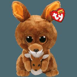 TY, Beanie Boos - Kipper Känguru 23 cm