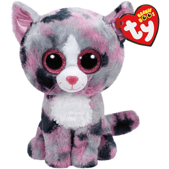 TY, Beanie Boos - Lindi Katt 15 cm