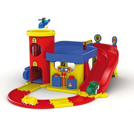 Viking Toys, Garage med vägset, Litet