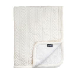Vinter & Bloom, Filt Cuddly Ivory