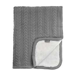 Vinter & Bloom, Filt Cuddly Dove Grey