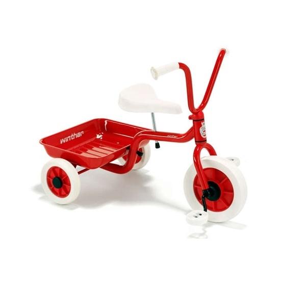 Winther, Klassisk Trehjuling, Röd