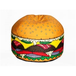 Woouf, Burger Bean bag