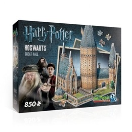 Harry Potter, Pussel Hogwarts Great Hall 850 bitar