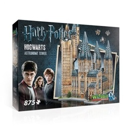 Harry Potter, 3D Pussel Hogwarts Astronomy Tower, 875 bitar