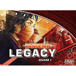 Pandemic Legacy Red Season 1 (Eng)