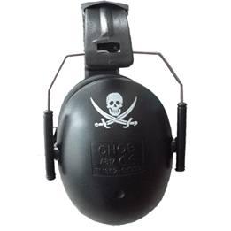 A-Safety Hörselskydd - Svart Pirat