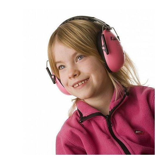 A-Safety Hörselskydd - Neonrosa