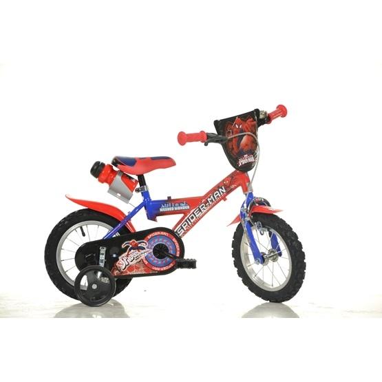 DinoBikes - Barncykel 12 Tum - Spiderman