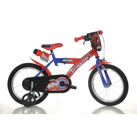 DinoBikes - Barncykel 16 Tum - Spiderman
