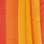 Hamaca - Väderbeständig singel-hängmatta med träkarmar - Grenada Papaya