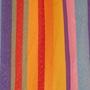 Hamaca - Väderbeständig singel-hängmatta - Rainbow Apple med träkarmar