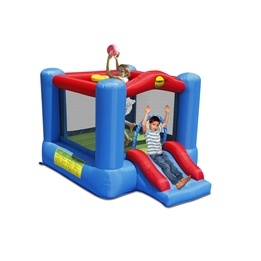 HappyHop - Hoppborg - Slide and Hoop Bouncy Castle