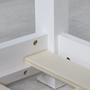 Hussäng 80x160 cm (Vit)