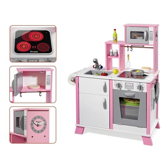 Howa - Barnkök - Chefskocken Kök - Rosa