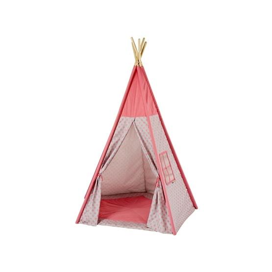 Howa - Tipi Tent - Tori - Rosa/Grått