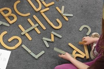 Clicko - Magnetiska bokstäver som lär dig ABC