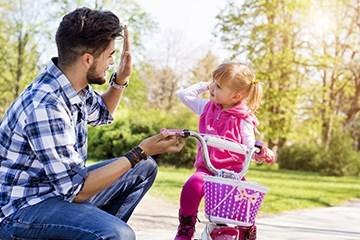 Storleksguide - Hitta rätt storlek på barncykeln