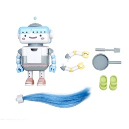 Lottie - Docktillbehör - Busy Lizzie The Robot