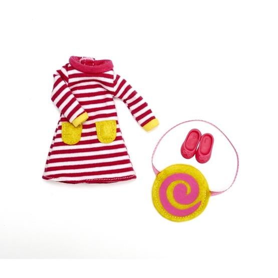 Lottie - Dockkläder - Raspberry Ripple