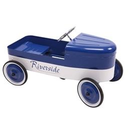 Baghera - Lådbil -Riverside Blue/White