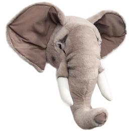Djurhuvud ElefantFör Vägg