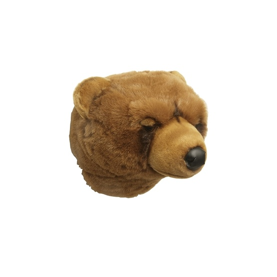 Björnhuvud ljusbrun