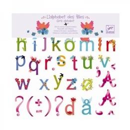Djeco - Väggbokstäver - Alfabetet
