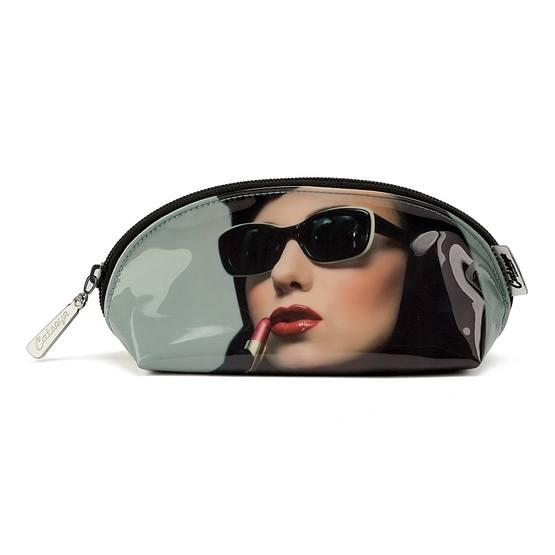 Lipstick Woman Oval Bag