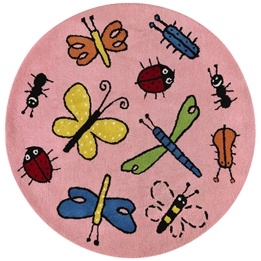 Kateha - Barnmatta - Bugs Rosa