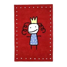 Kateha - Barnmatta - Prinsessa Röd
