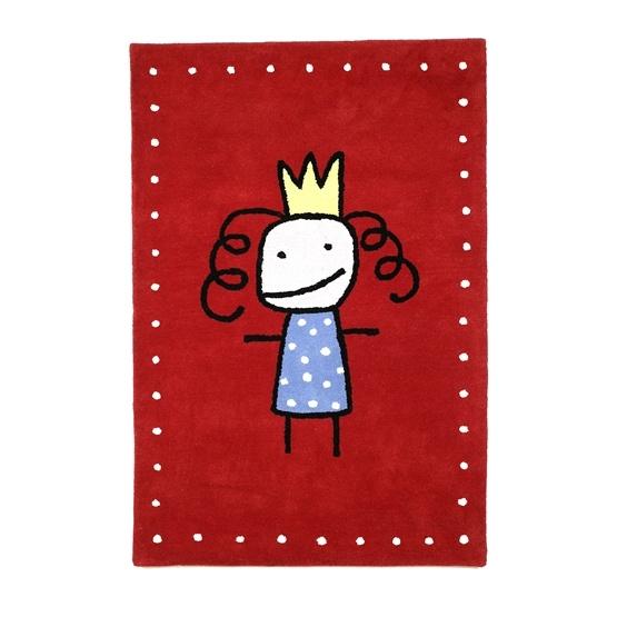 Prinsessa -Röd