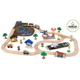 Kidkraft - Tågbana -Bucket Top Mountain Train Set