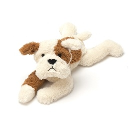 Jellycat - Mishmash Tan & Cream Puppy