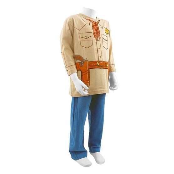 Play And Wear - Pyjamas Sheriff - 3-4 År