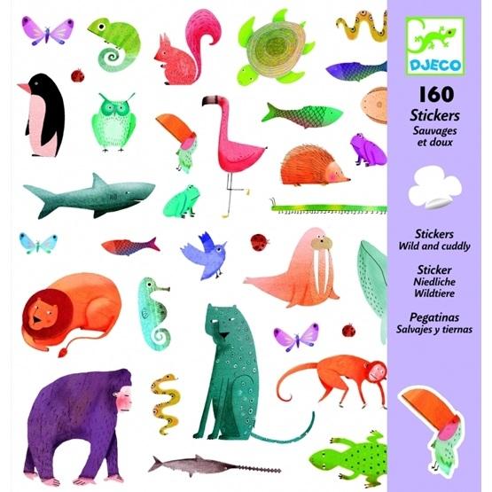 Djeco - Stickers - Wild And Cuddly