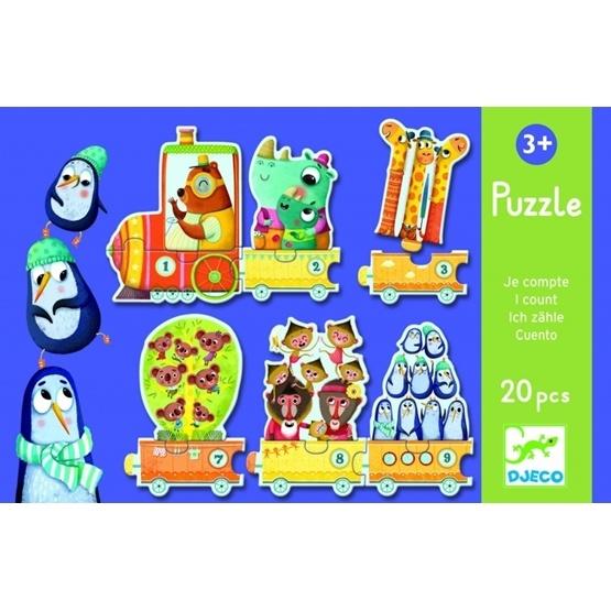 Djeco - Puzzle - I Count