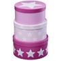 Kids Concept - Pappbox Rund Star Rosa