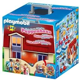 Playmobil - Dockhus, Bärbart Dockhus