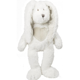 Teddykompaniet - Teddy Cream Kanin, Stor,Vit