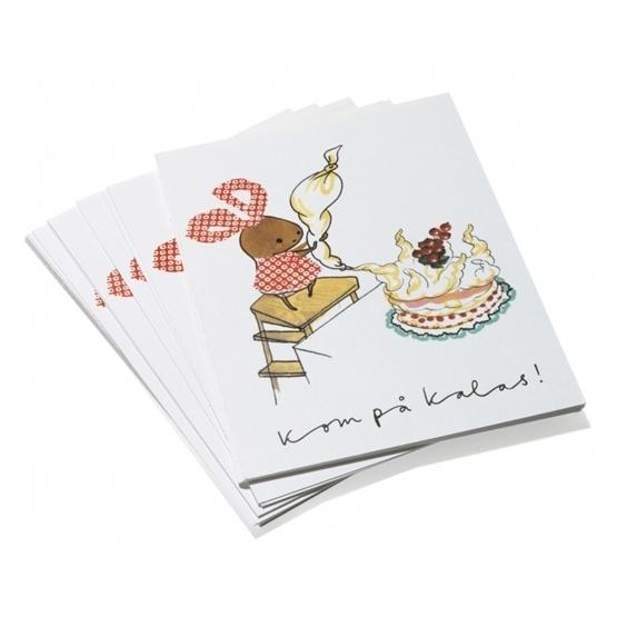 Brokiga - Inbjudningskort