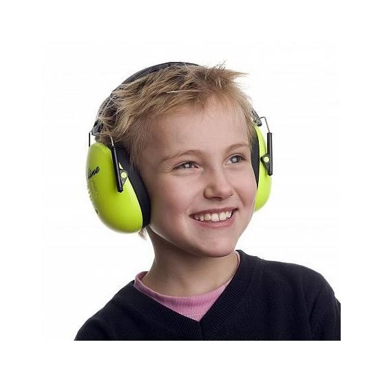 A-Safety Hörselskydd - Neongrön