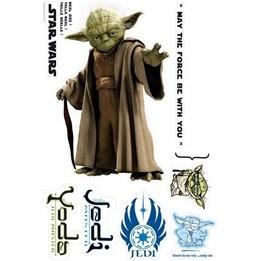 Disney - Star Wars Wallies Väggdekaler Yoda