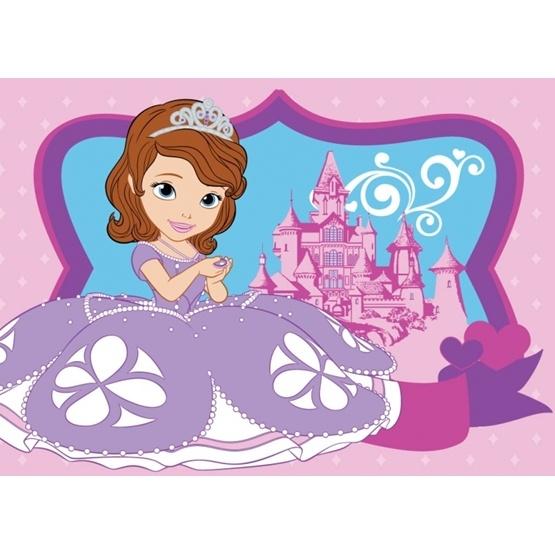 """Disney - Sofia Den Första Barnmatta """"Sofia Och Slottet"""""""