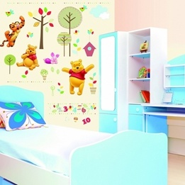 Disney - Nalle Puh Xl Wallies 48X68 Cm