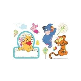 Disney - Nalle Puh Wallies Väggdekaler 13-Pack